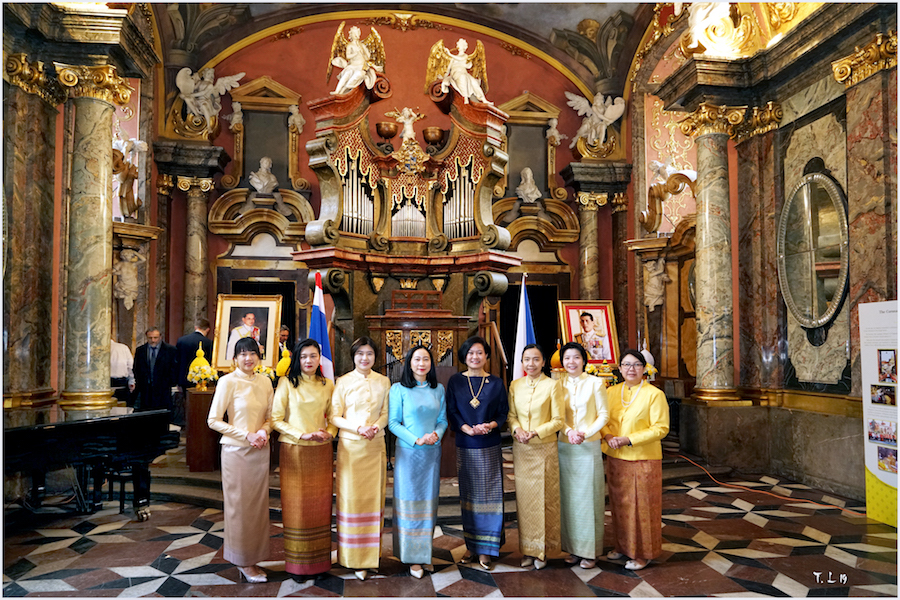 Recepce u příložitosti narozenin jeho veličenstva krále Bhumibola