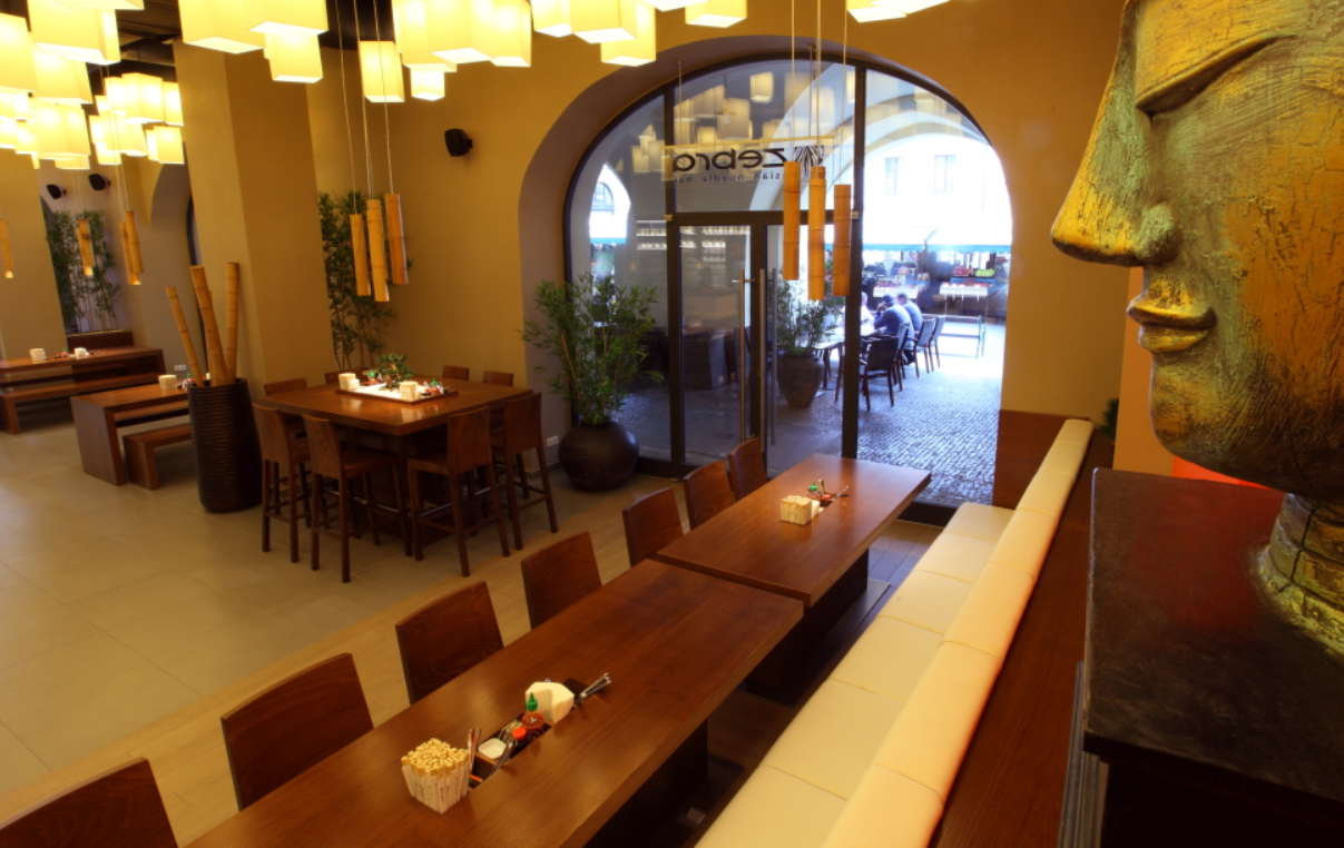 Thajská restaurace Zebra